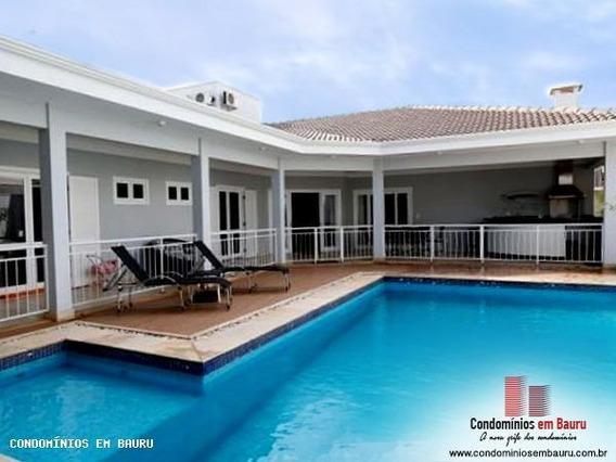 Casa Em Condomínio Para Venda Em Bauru, Residencial Villaggio I, 4 Dormitórios, 4 Suítes, 7 Banheiros, 3 Vagas - 288