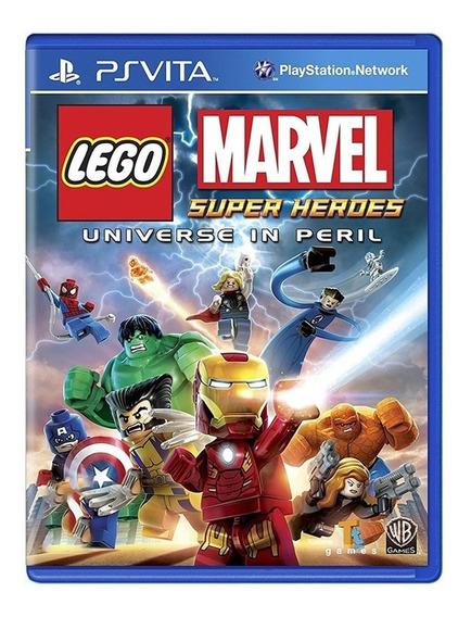 Lego Marvel Super Heroes - Ps Vita - Original