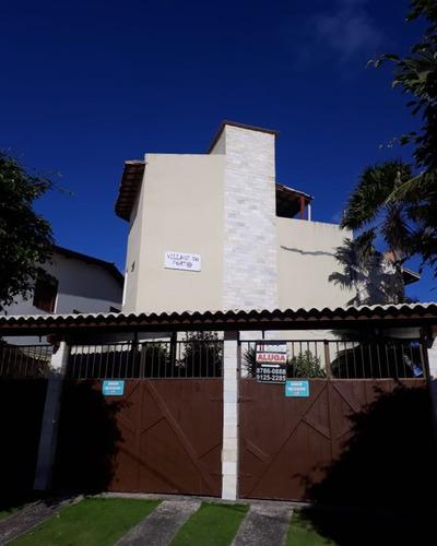 Village Somente Temporada Com 2 Suítes + Cobertura Com Hidro Em Frente A Praia. - Ca00033 - 69341372