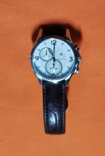 Reloj Hamilton Swissmade Zh323720 Jazzmaster Chrono