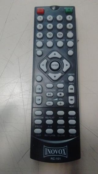 Controle Remoto Dvd Inovox Rc101 Rc-101 Original