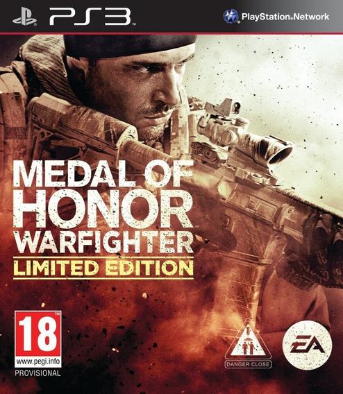 Medalha De Honra Warfighter Ps3 Cod Psn