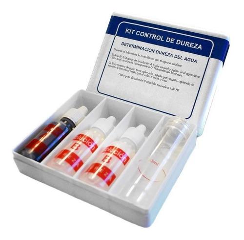 Imagen 1 de 4 de Test Kit Laboratorio Control Dureza De Agua Piscina Vulcano