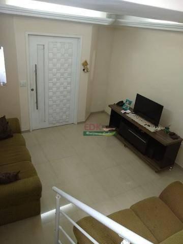 Imagem 1 de 16 de Sobrado Com 3 Dormitórios À Venda, 180 M² Por R$ 575.000,00 - Parque Terra Nova Ii - São Bernardo Do Campo/sp - So2234