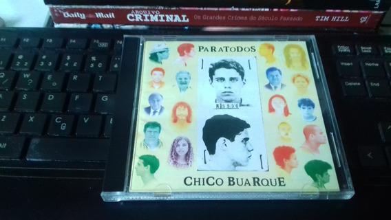 Cd Chico Buarque - Paratodos - Original