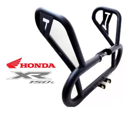 Defensa Tubular Con Protector De Alerones Honda Xr 150 Xr150