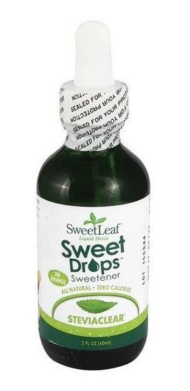 Stevia Liquida Sweet Leaf 60 Ml