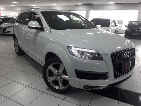 Audi Q7 3.0 V6 Ambiente 2015 Branca