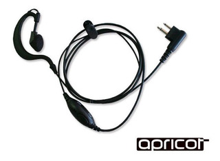 Manos Libres Con Audifono Tipo J Para Radios Serie Magonea8/