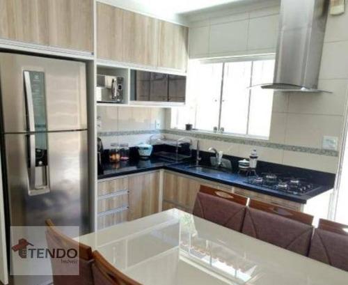 Imagem 1 de 16 de Imob01 - Casa 122 M² - 3 Dormitórios - Taboão - Diadema/sp - Ca0047