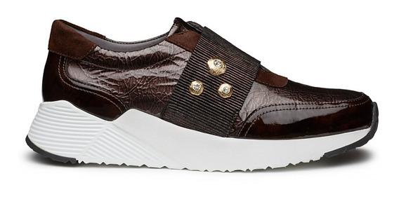 Zapato Para Mujer Oxford Deportivo Piel Cordero Jean Pierre
