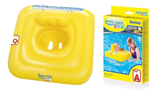 Salvavidas Para Bebe Inflable Flotador Pileta Oferta Cuotas