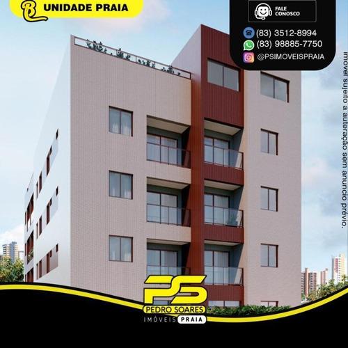 Apartamento Com 1 Dormitório À Venda, 33 M² Por R$ 185.500 - Jardim Oceania - João Pessoa/pb - Ap4893