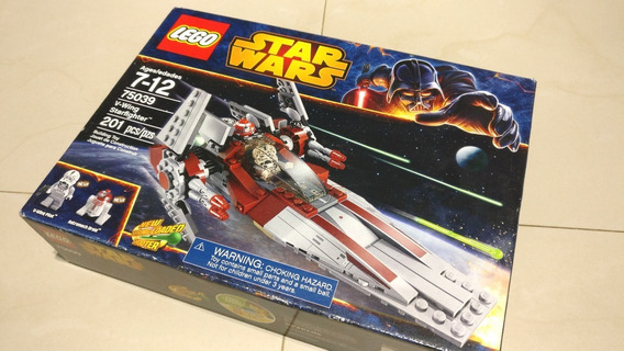 Lego Star Wars 75039 V-wing Starfighter 201 Piezas Set