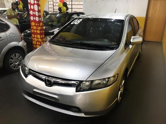 Honda Civic Lxs 1.8 Automático Completo 2008