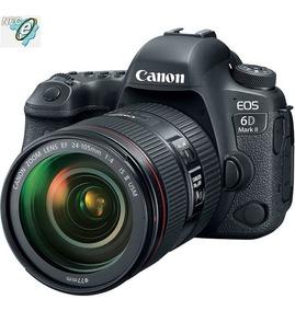 Canon Eos 6d Mark Ii 26.2mp Lente 24-105mm 1:4l Is Ii Usm