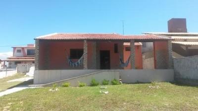 Casa Para Venda Em Ceará-mirim, Praia De Muriú, 2 Dormitórios, 1 Suíte, 2 Banheiros, 1 Vaga - Casa Em Muriu