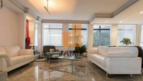 Apartamento Nos Jardins, A 500m Do Metrô Oscar Freire - Pe6485