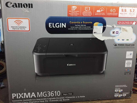 Impressora Multifuncional Canon Pixma Mg3610