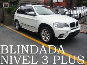 Bmw X5 35ia 2012 Blindada Nivel 3 Plus Blindaje Blindados