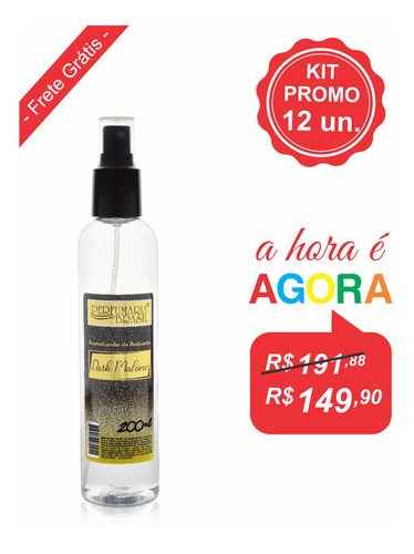 Kit Aromatizador Premium 200 Ml (12un.)