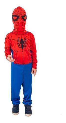 Imagem 1 de 7 de Fantasia Homem Aranha Infantil Festa De Criança Spiderman