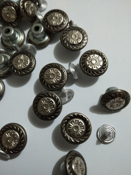 Botón Clavo Para Jeans T 20