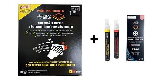 Combo Recubrimiento Antimicrobial Permanente Liquido Guard