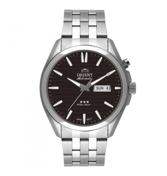 Relógio Masculino Orient Automático 469ss041 P1sx - Prata