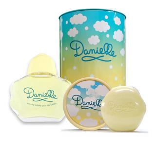 Perfume Bebe Danielle Lata Edt 90ml + Jabon 75g + Jabonera