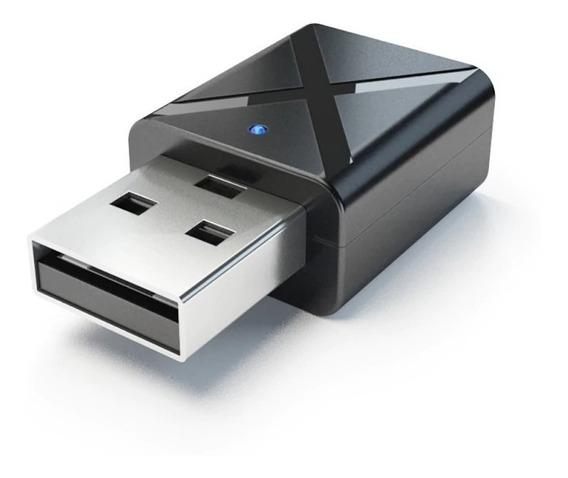Receptor E Transmissor De Áudio Bluetooth 2 Em 1 Bt 5.0 Usb