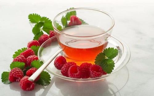 Chá De Folha Framboesa Vermelha In Natura Para Fertilidade! | Mercado Livre