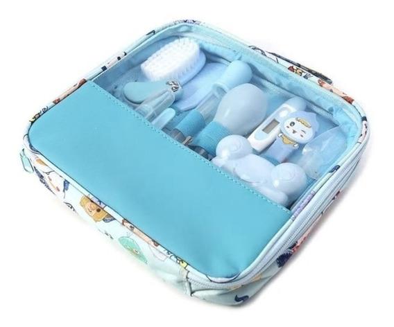 Kit Higiene Bebe Cuidado Termometro Recem Nascido Escova