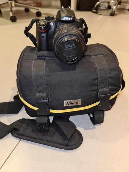 Câmera Nikon D5000 Com 12878 Disparos
