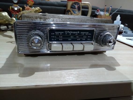 Radio Antigo Telespark 6v Original Anos 60/70