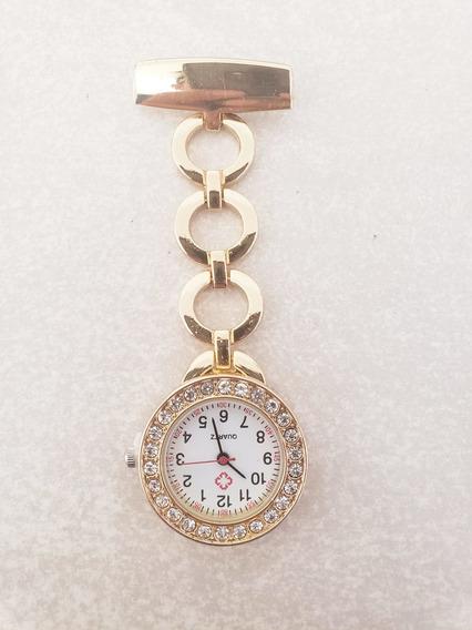 Reloj Enfermera Gold Dorado