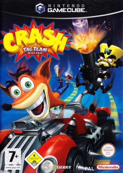 Crash Tag Team Racing Completo Game Cube