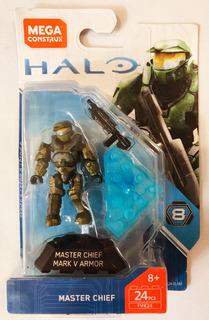 Halo Master Chief Mark V Armor Mega Construx Series 8 Fvk24