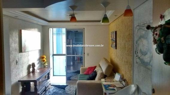 Apartamento Com 2 Dormitorios Semi Mobilhado - V-37