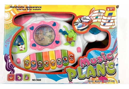 Juguete Piano Musical Con Luces Canciones Musica Niñas Bebes
