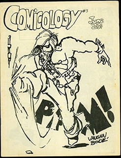 Comicology Fanzine #3 1969- Vaughn Bode Cover- Jim Shooter G