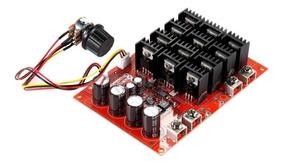 Controle Velocidade Dimmer Pwm Hho Motor Dc 10-50v 60 Amper