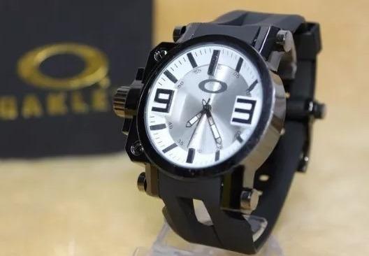 Relógio Oakley Gearbox Titanium Sport Neymar Resistente Top