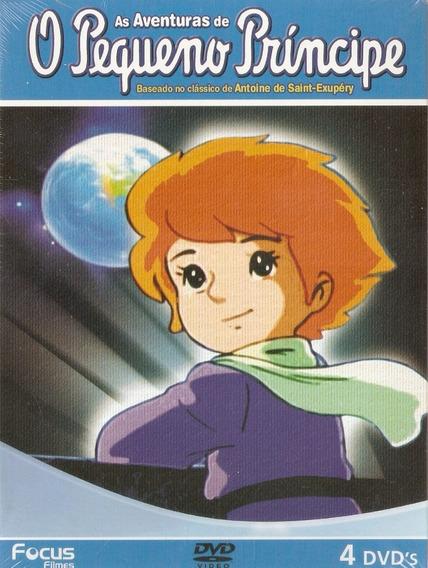 O Pequeno Príncipe As Aventuras Box 4 Dvds Edição Especial