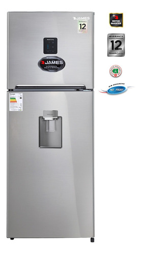 Heladeras James Inverter J501 Dispensador Eficiencia A Pcm