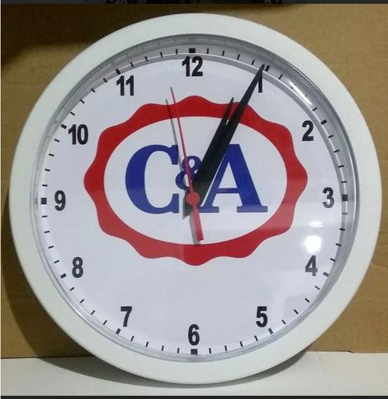 Relógios De Parede Personalizados Com Sua Foto Ou Slogan