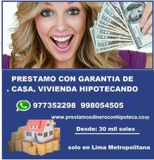 Prestamos De Dinero Con Hipoteca