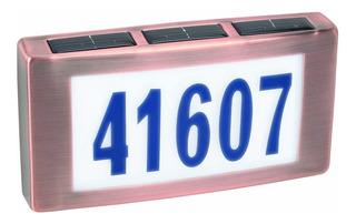 Número Solar Para Casa. Placa. #02659