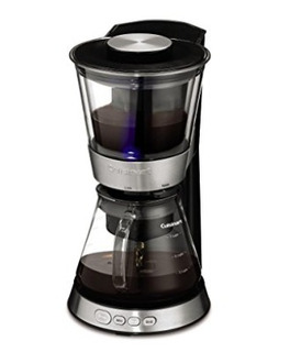 Cuisinart Dcb-10 Automatic Cold Brew Silver Cafetera