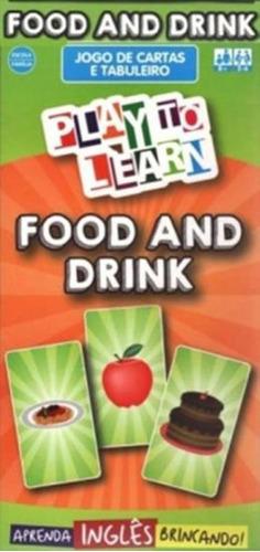 Imagem 1 de 1 de Play To Learn - Jogo De Cartas E Tabuleiro - Food And Drink